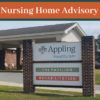Appling Healthcare Suspends All Visits to Appling Nursing and Rehabilitation Pavilion