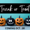 Trunk or Treat set for Oct. 28th